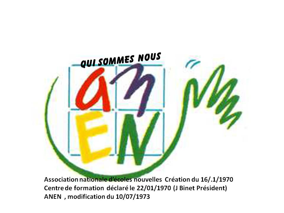 Logo de Association nationale Education nouvelle