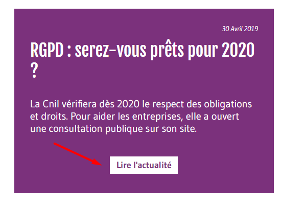 Call to action - Associathèque